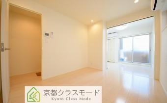 白ベースの明るい室内空間♪設備も充実しています!