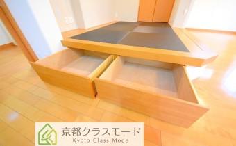 和室の床下収納スペース