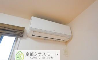 洋室11帖のエアコン①