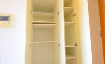 リビングの収納 ※室内写真は同マンション内の別のお部屋のものです。