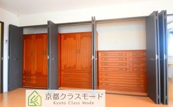Room 10.7のクローゼット