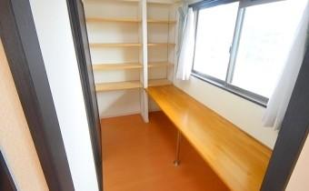 書斎&収納スペース