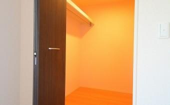 Room 7.5のウォークインクローゼット