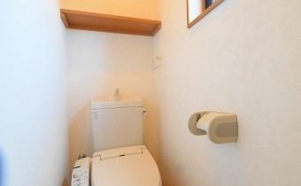 2階のウォシュレットトイレ