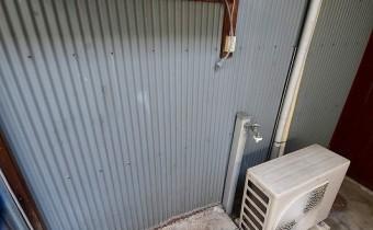 室外洗濯機置き場