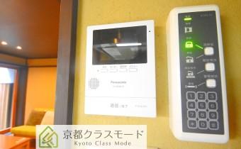 TVモニター付きインターホン&電子ロック操作