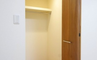 Room 5.4のクローゼット