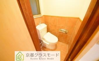 ウォシュレットトイレ(人勧センサーライト機能付き)
