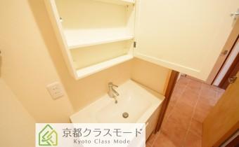 洗面台(収納個所も豊富です♪)