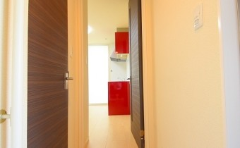 廊下 ※室内写真は同マンション内の203号室のものです。