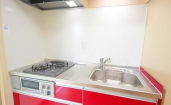 システムキッチン ※室内写真は同マンション内の203号室のものです。