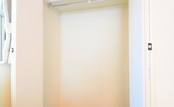 Room 7のクローゼット