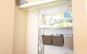 Room 6.3のクローゼット