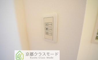 電動シャッターのボタン