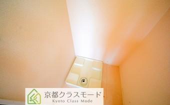 室内洗濯機置場 *写真はA棟201号室の参考画像です。